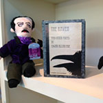 Edgar Allen Poe at the Cameron Art Museum Gift Shop